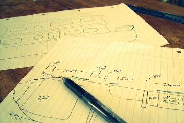 Designing our hire narrowboat interior design on the Grand Union Canal