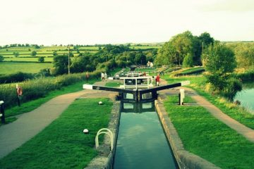 Foxton Locks hire boat