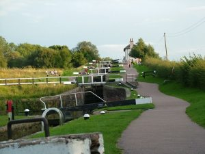 Canal boat hire Leicester Foxton Locks
