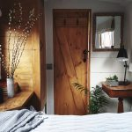 luxury canal boat hire bedroom on the boutique narrowboat