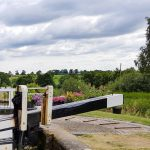 Watford Locks on narrowboat hire