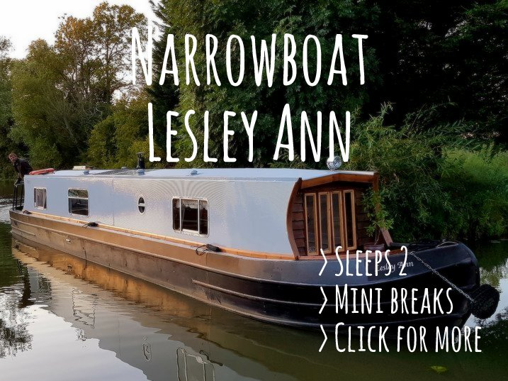 Boutique Narrowboat Lesley Ann