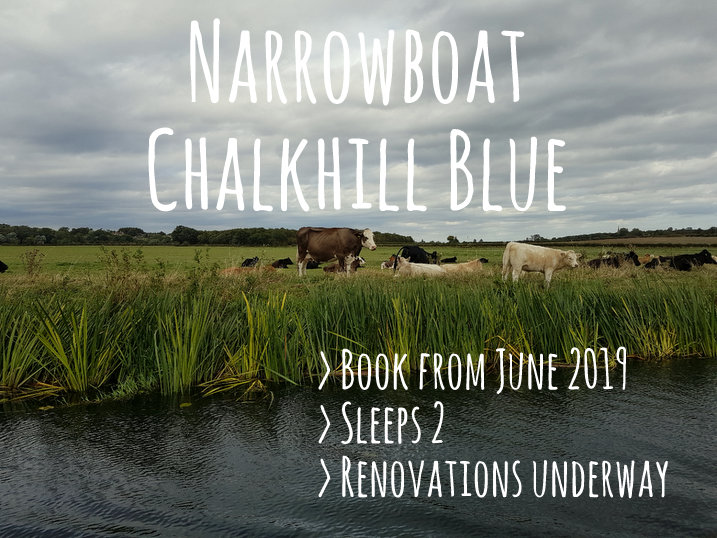 Boutique Narrowboat Chalkhill Blue