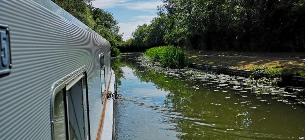 50th birthday weekend break on a narrowboat