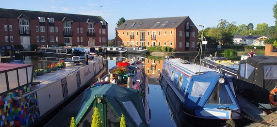 Union Wharf Marina Market Harborough basin
