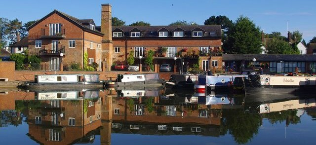 Union Wharf Marina at market harborough home to Boutique Narrowboats 1
