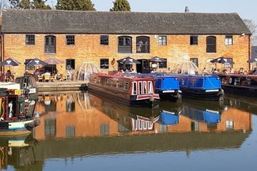Union Wharf Marina Market Harborough home of Boutique Narrowboats