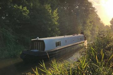 Grand Union Leicester line and a Boutique Narrowboat