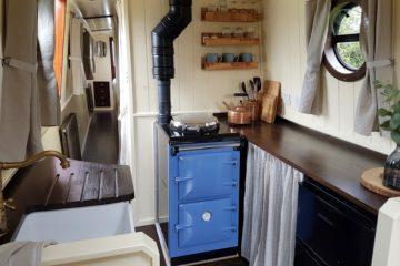 interior design kathleen may narrwboat
