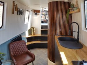 Narrowboat builds for private clients
