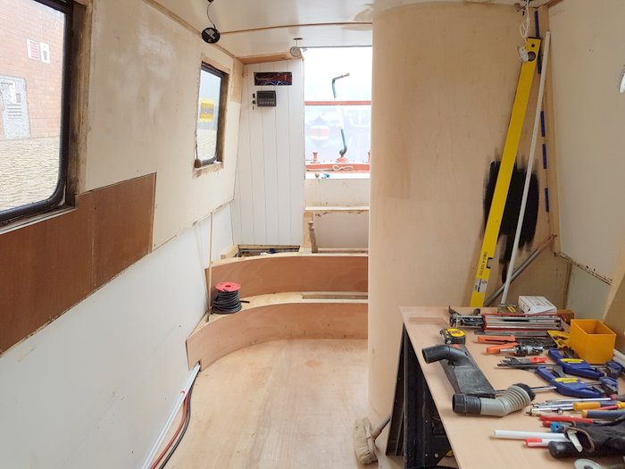 Boutique Narrowboat fit out 2
