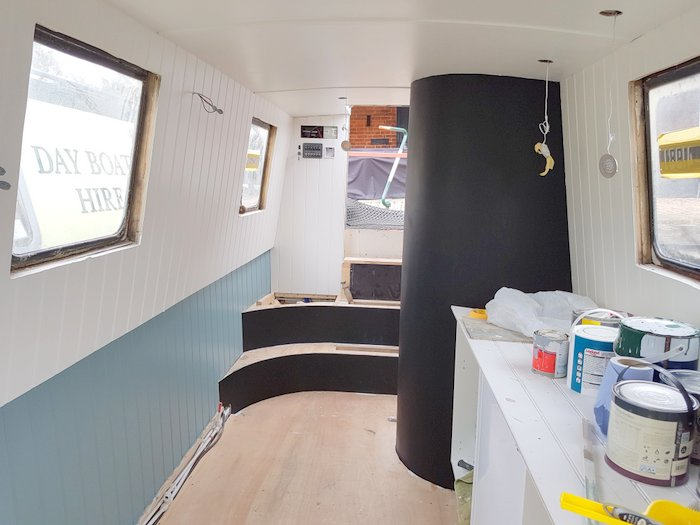 Boutique Narrowboat fit out 3